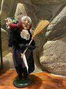 1994 Byers Choice Old Befana Christmas Witch