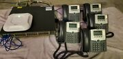 Cisco Small Office Bundle 3570 Switch Aironet Access Point Spa504g Ip Phones