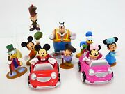 Disney Exclusive Mickey Mouse Clubhouse Lot Cars And Figurines Playset