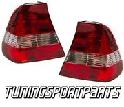 Rear Tail Lights Red-clear For Bmw E46 00-04 Compact Series 3 Lamp Fanale