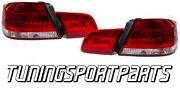 Rear Led Tail Lights Red-white For Bmw E92 06-10 Coupeand039 Series 3 Lamp Fanale