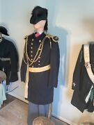 1866-1897 Indian War Uniform Original Offers With Hat And Sash, Trousers.