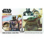 Star Wars The Mandalorian Prime 3d Puzzles Baby Yoda 2 500 Piece Puzzles Gift