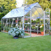 Palram Balance Greenhouse 8and039 X 20and039 Clear Polycarbonate Panels Contact Us Ship