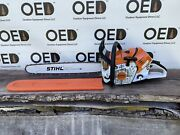 Stihl Ms500i Chainsaw / Very Nice 79.2cc Fuel Injected Saw 25 Bar - Ships Fast