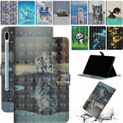 For Samsung Galaxy Sm-t290 T510 T860 Leather Flip Magnetic Back Case Cover
