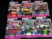 Matchbox Candy Cars - Complete Sets N Singles Cmb Shipping Nice 6 Car Set Beetle