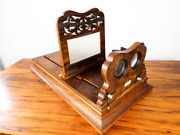 Antique Tabletop Stereoscope Postcard Viewer E And H T Anthony New York Civil War