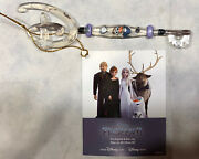 Disney Store Frozen 2 Olaf Collectible Key Exclusivelimited Edition Rare Damaged