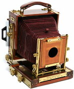 Wisner Technical Field 4x5 Inch Wooden Camera With Brass Fittings