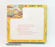 Corgi Toys Gift Set 5 Agricultural Early Version Virtually Mint/boxed