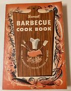 Sunset Barbecue Cookbook, How To Barbecue, Tested Recipes And Menus,vintage 1957