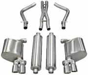 Corsa Xtreme Cat-back Exhaust For 2011-2014 Dodge Charger Rt 5.7l 14522
