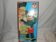 19 Marching Mickey Mouse Club Doll + Box Romper Room Hasbro Excellent 1970's