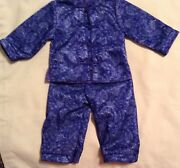 Gorgeous Blue Asian Outfit For Asian American Girl Doll Ivy Or Other 18 Doll,