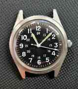 Benrus Us Military 1968 Issue Menand039s Watch Ref Dtu-a/p Mil-w-38i8b