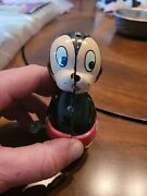 Disney 1950'smickey Mouse Whirling Tail Tin Lithographed Wind-up Toy Parts