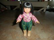 American Girl Ivy Ling Mini Doll  Complete Outfit W/ Underwear Adorable