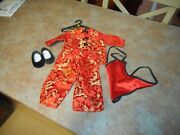 American Girl Pleasant Company Asian Red Silky Set Complete Ivy Perfect