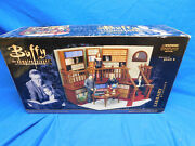Buffy The Vampire Slayer Library Playset Designed By Plan B - New In Open Box