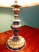 ⭐ Edward F. Caldwell And Co. Antique Silver Lamp. Stylish 1913-1914.