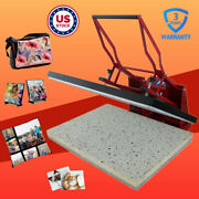 24 X 31 Clamshell Sublimation Transfer Heat Press Machine For T-shirts Mats