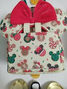 Loungefly Disney Minnie Et Mickey Cookies Backpack