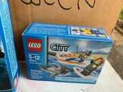 Pair Of Nib Lego City Building Sets 60091 And 60011 Deep Sea Surfer Rescue