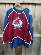Starter Jersey Patrick Roy 33 Colorado Avalanche Xl New With Tags Nhl Nice