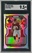 Chase Young 2020 Panini Prizm 383 Silver Prizm Rc Rookie Sgc 9.5 Mint + Centered