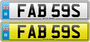 Cherished Number Plate Fab 59s Fab Rock N Roll Beatles Buick Cadillac 1959