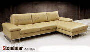 2-piece Modern Sectional Sofa Chaise Set S1751 Custom Options Available