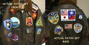 17-patch Set For G-1 Flight Jacket As On Top Gun Movie Patch Set Only No Jacke