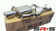 Srs Catback Exhaust 2.5 Piping Re For Honda Civic 06-11 Ex/lx/dx 2 Door Coupe