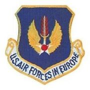 Usaf Air Force Forces In Europe Command Usafe Patch