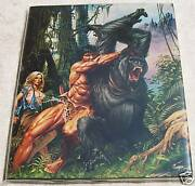 Joe Juskoand039s Art Of Edgar Rice Burroughs Hardcover Hc Dj Signed And Limited To 500