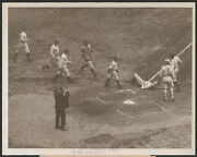 1923 Orig Bb Press Photo - Pennock Stretched Out