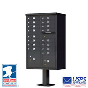 16 Door Cbu Florence Cluster Box Unit Mailbox - Usps Approved - In Stock