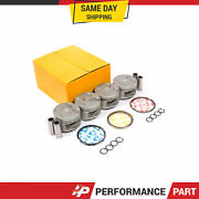 Fits 93-96 Honda Prelude Vtec 2.2l H22a1 Pistons With Rings