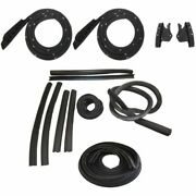 1966-1967 Dodge And Plymouth Convertible Weatherstrip Seal Kit Doors Roof And Trunk