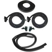 1966 Dodge And 1966-1968 Plymouth 2dr Hardtop Weatherstrip Seal Kit