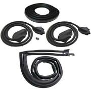 1973-74 Dodge Dart Sport And Plymouth Duster 2dr Hardtop Weatherstrip Seal Kit New