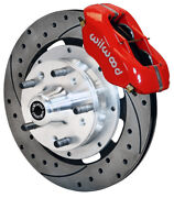 Wilwood Disc Brake Kitfront62-69 Cdp B And 70-72 B And E-body W/drums12reddrld