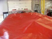 Fire Engine Truck Hose Bed Cover Tarp