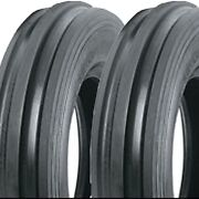 2 4.00-19 400-19 4.00x19 400x19 F-2 Front Tractor 3 Rib Tires Ds5153 4ply