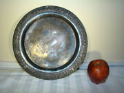 Victorian Rogers And Bro Tripleplate Silver Plate Platter