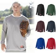 Rawlings Menand039s New Size S-3xl 4xl 5xl Dri Fit Sport Warmup Mesh Pullover Top