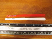 Pan Am Airlines Lot Of 2 Swizzle Sticks, 1-red And 1-white