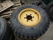 Hyster Forklift Wheel 6.5-20 Bearcat 7303 6-lug With Used Tire, Tire As-is