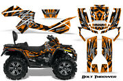 Can-am Outlander Max 500 650 800r Graphics Kit Decals Stickers Bolt Thrower O